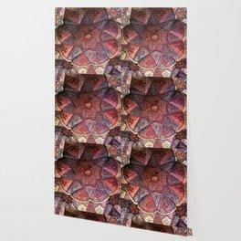 Decorative Ornamental Persian Tile Mosaic Ceiling, Persia, Iran Wallpaper