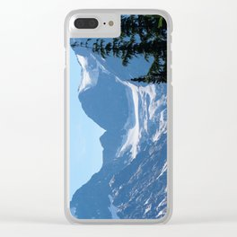 Alpine Blues pt 2 Clear iPhone Case