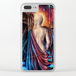 """Modern Venus"" Painting Clear iPhone Case"