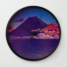 A Sunset for Hara Wall Clock