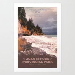 Juan de Fuca Provincial Park Art Print