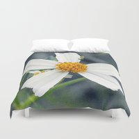 weed Duvet Covers featuring Lawn Weed by Glenn Designs