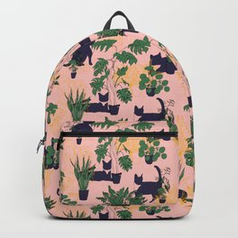 Cats and Houseplants Backpack