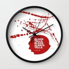 Dexter no.1 Wall Clock