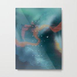 waves & wind Metal Print