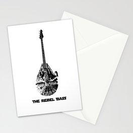 Rebel Bass Stationery Cards