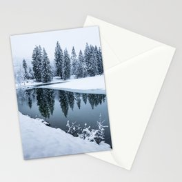 Dreamy Winterscape Stationery Cards