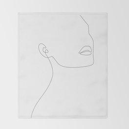 Simple Minimalist Throw Blanket