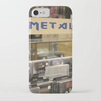 metal iPhone & iPod Cases featuring Metal by Bingz