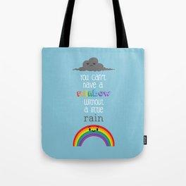 A Little Rain Tote Bag