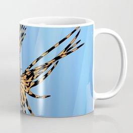 Stained Glass Lionfish Coffee Mug