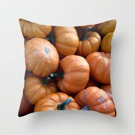 Smol Pumpkins Throw Pillow