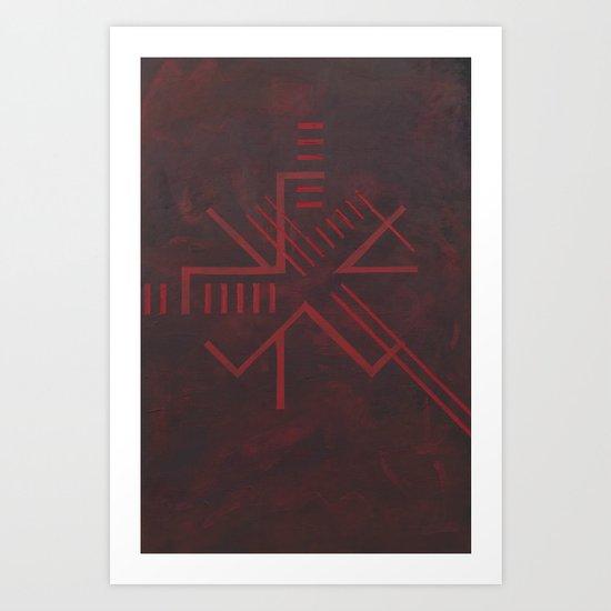 ach golgotha Art Print