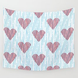 It´s raining love Wall Tapestry