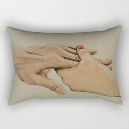 Hands of Time Rectangular Pillow