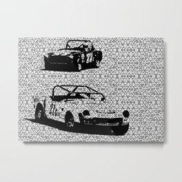 Vintage Racing #1 Metal Print
