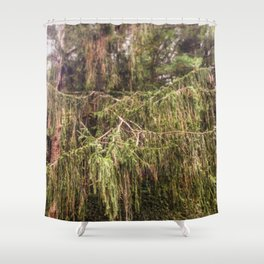 Woolly Spruce Shower Curtain