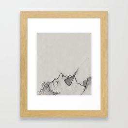 The Whip Hand Framed Art Print