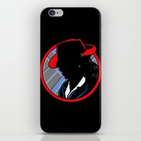 agent carter iPhone & iPod Skins featuring Agent Carter by offbeatzombie