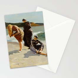 High Tide, Winslow Homer, 1870 Stationery Cards