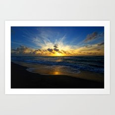 With Each Sunrise We Start Anew Art Print