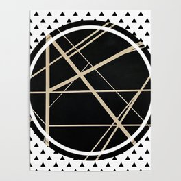 Crossroads - small triangle Poster