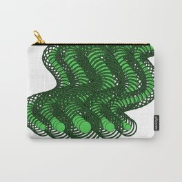 Snakes on a Page- Greens Carry-All Pouch