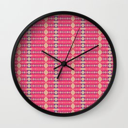 Rombos Wall Clock