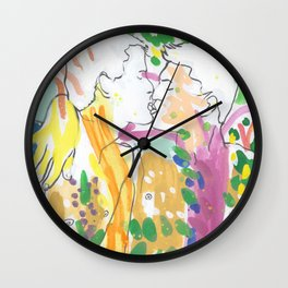 Mi Amor Wall Clock