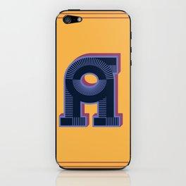 Alphabet Drop Caps Series- A iPhone Skin