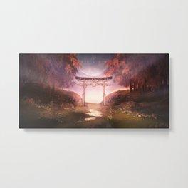 夢 Dream [Wide] Metal Print