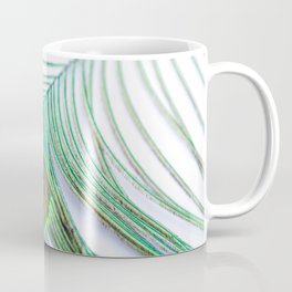 Peacock Feather Coffee Mug