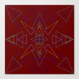 Radial Pattern III Canvas Print