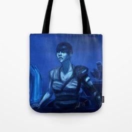 Furiosa in Blue Tote Bag
