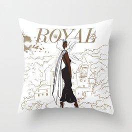 NIa Royal Throw Pillow
