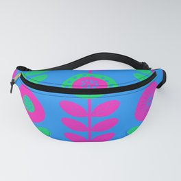 Polysexual Pride Flower Stripe Pattern Fanny Pack