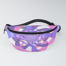 Unicorn Kaleidoscope Mandala Fanny Pack
