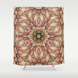 8700 Cloisonné, 2470t6 Shower Curtain