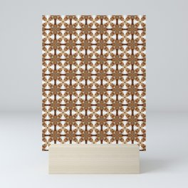 Spanish Cedar Stars Mini Art Print