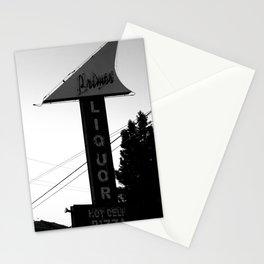 Primo's Liquor and Deli Sign Stationery Cards