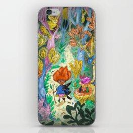 Alien Wonderland iPhone Skin