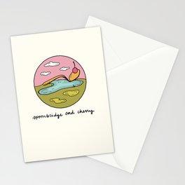 spoonbridge and cherry illo Stationery Cards