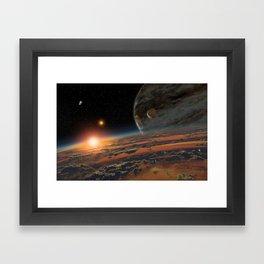 Kepler 64 b Framed Art Print