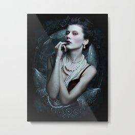 Dramatic Enchantress Metal Print