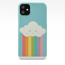 Proud rainbow cloud iPhone Case