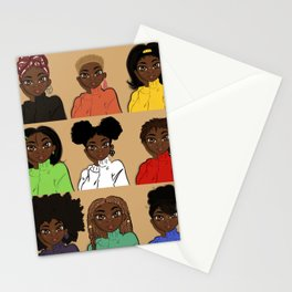 Favorite Hairstyles Stationery Cards