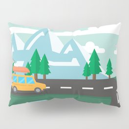 Travel Pillow Sham