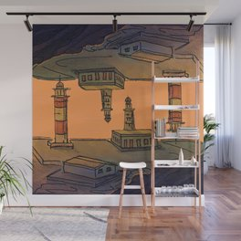 In Love with the Sea / Lighthouses Fuencaliente Wall Mural