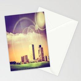 Tripoli, Libya [Skyline] - Summer Haze Stationery Cards