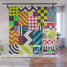 Dazzle Wall Mural